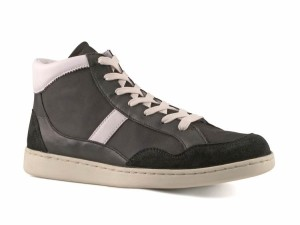 Dolce-&-Gabbana-mens-black-Soft-leather-high-sneakers-shoes